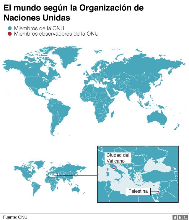 Mapa ONU