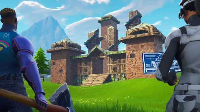 Fortnite Tournament Tactics Fortnite A Fortnight In My 40s In Battle Royale Bbc News