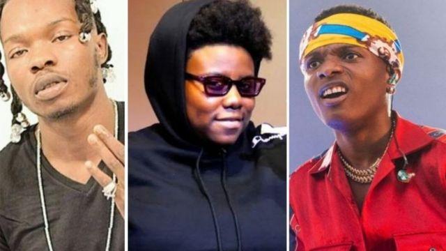 Wizkid, Temi, Naira marley dey para on top SARS mata