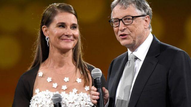 Melinda e Bill Gates.