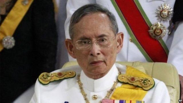 Umwami wa Thailande Bhumibol Adulyadej