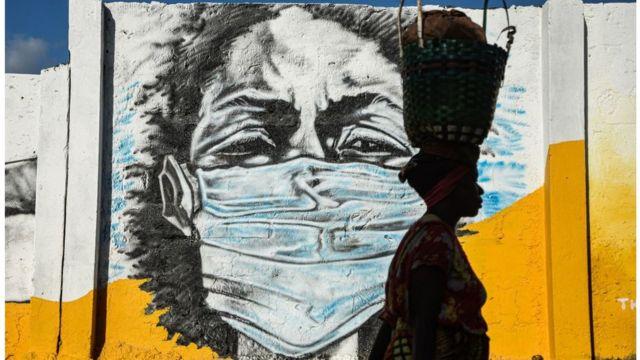 Mural en Tanzania
