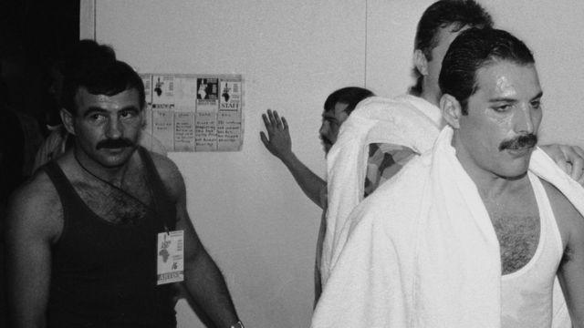 Freddie Mercury e Jim Hutton