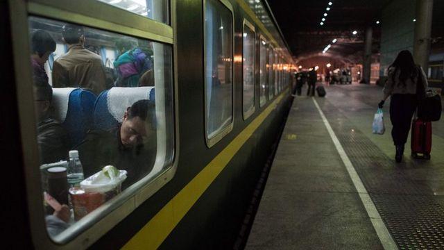 Çin'de yolcular