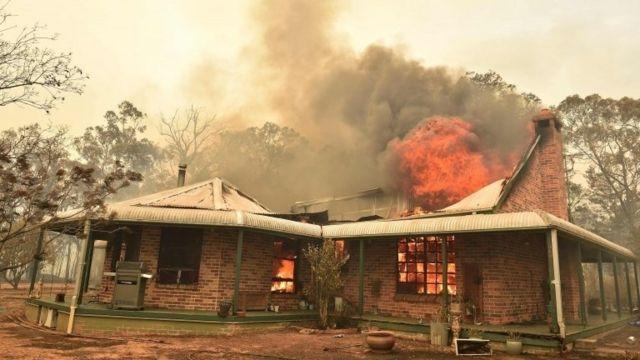 آتش سوزی در بالمورال