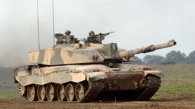 Британский танк Challenger