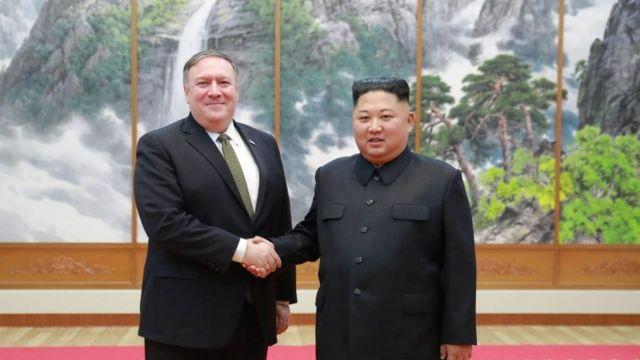 Pompeo e Kim