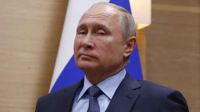 Prezida w'Uburusiya Vladimir Putin