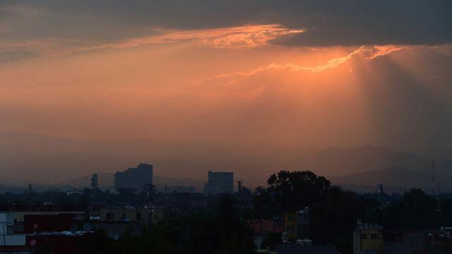 México com poluição no ar