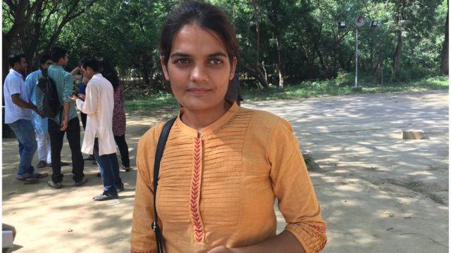 सुनीता मिन्ना, एनएसयूआई