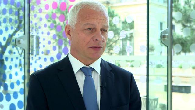 O esloveno Drago Kos, chefe do grupo de trabalho anti-corrupção da Organização para a Cooperação e o Desenvolvimento Econômico (OCDE)