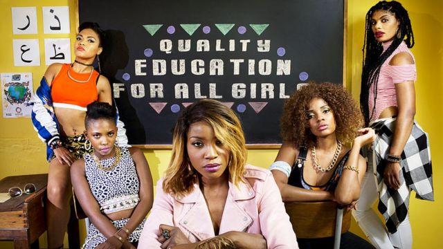 """""""Educación de calidad para todas las niñas"""""""