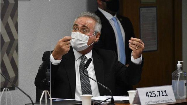 Renan Calheiros na CPI