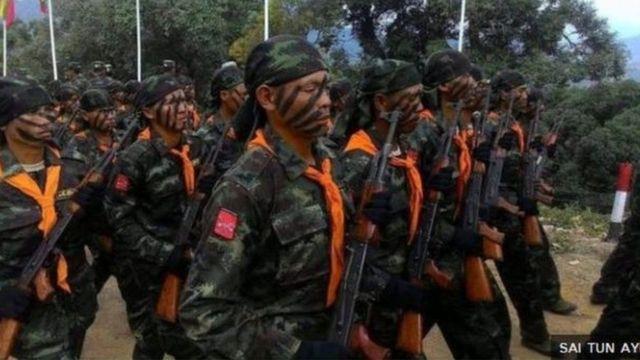 RCSS ရှမ်းပြည်ပြန်လည်ထူထောင်ရေးကောင်စီတပ်ဖွဲ့