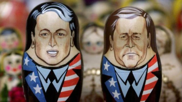 Al Gore y George W. Bush