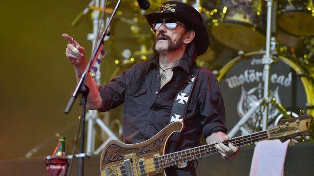 Lemmy played Glastonbury with Motorhead in 2015