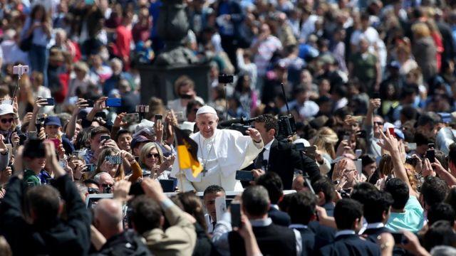 Paus, Vatikan