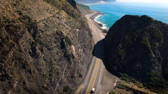 Costa do Pacífico na California