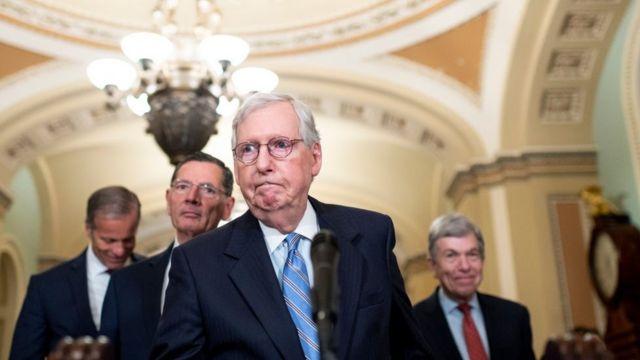 Лидер республиканцев в Сенате Митч Макконнелл