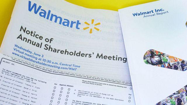 Relatório da Walmart