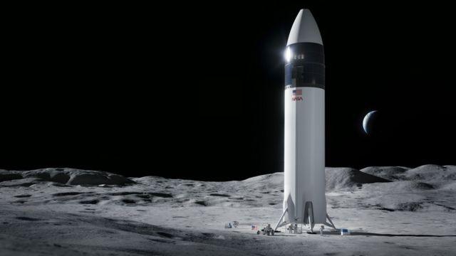 Графика: так может выглядеть посадка человека на Луну