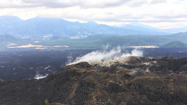 Volcán Paricutín.