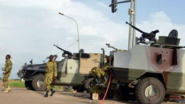 Selon l'état-major des armées, des opérations de ratissage se déroulent dans la région.