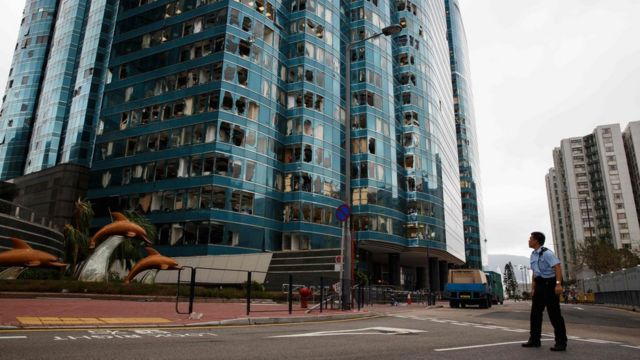 極端天氣為香港及沿岸地區帶來經濟損失