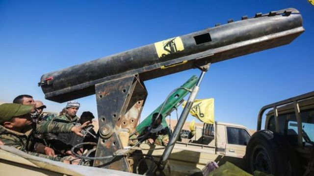 قوات من الحشد الشعبي ترابط في منطقة تلعفر غرب الموصل