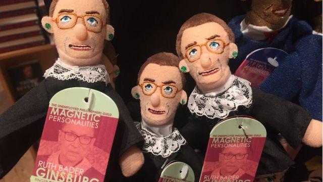 Ruth Bader Ginsburg dolls