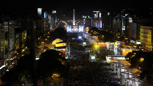 The celebrations for the bicentennial of the May Revolution in Buenos Aires, in May 2010