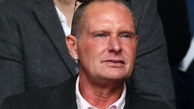 Paul Gascoigne: Ex-Spurs player to be charged with racial abuse