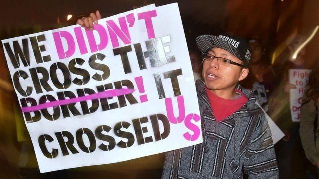 امریکہ امیگریشن احتجاج