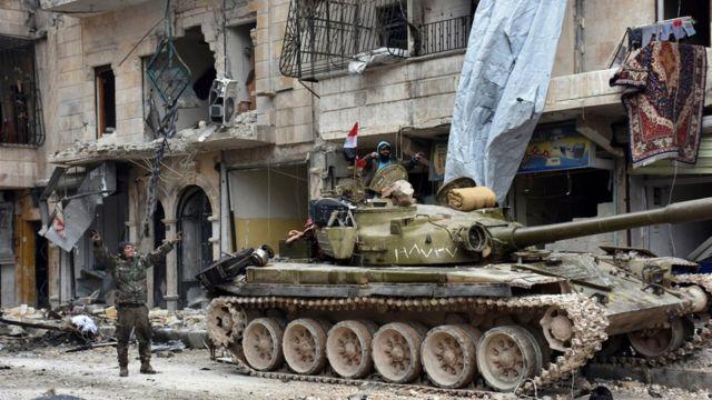 اتفاق وقف إطلاق النار يأتي بعد أسبوع من استعادة الحكومة السيطرة على مدينة حلب
