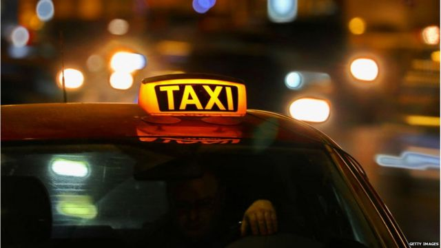 क्राइम, टैक्सी