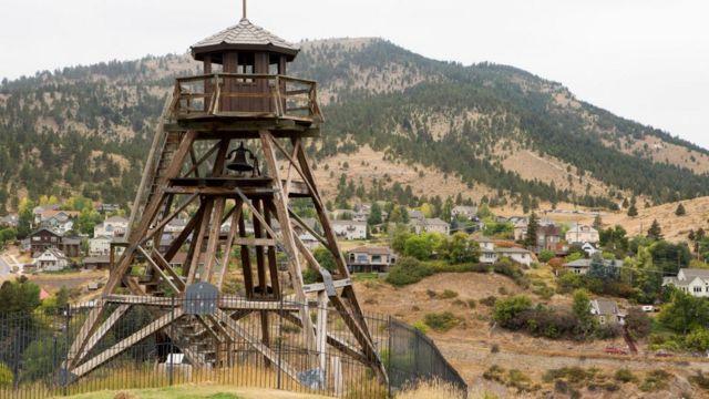 Helena, la capital del estado de Montana.