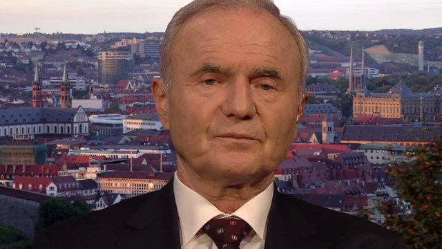 Otmar Issing, former chief economist of the European Central Bank