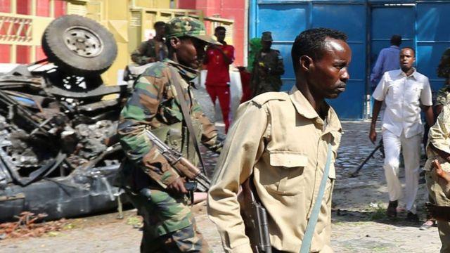 सोमालिया में सैनिक
