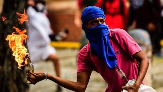 Zanga-zangar Venezuela