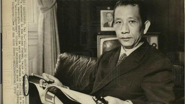 Cựu Đại sứ Bùi Diễm