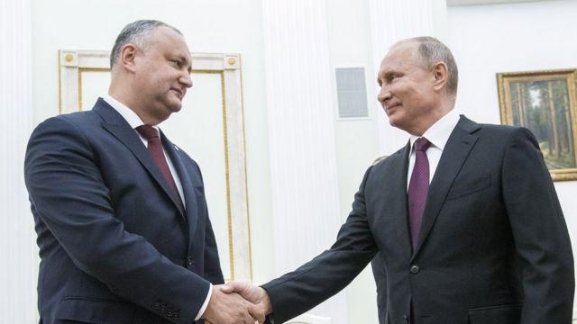 Игорь Додон, Владимир Путин