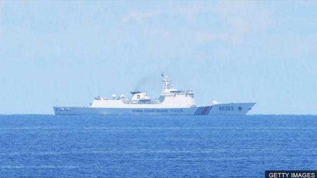 Một tàu tuần duyên Trung Quốc