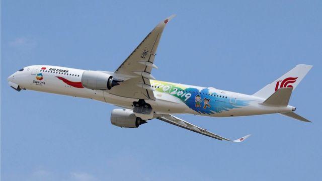 Air China одна из крупнейших авиакомпаний Китая