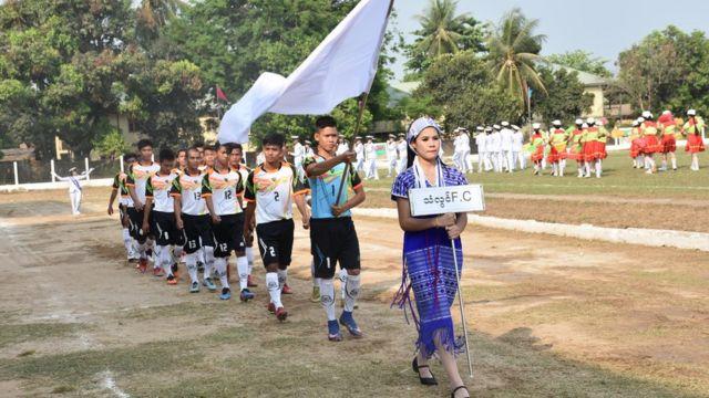 ဂျေအမ်စီ , ဘောလုံးပွဲ