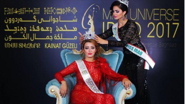 سارة عيدان ملكة جمال العراق والمرشحة لملكة جمال الكون لعام 2017