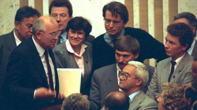 Gorbachev, Liên Xô