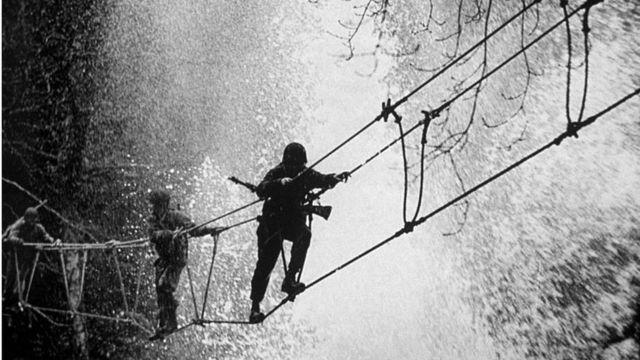 Тренировка коммандос во время войны