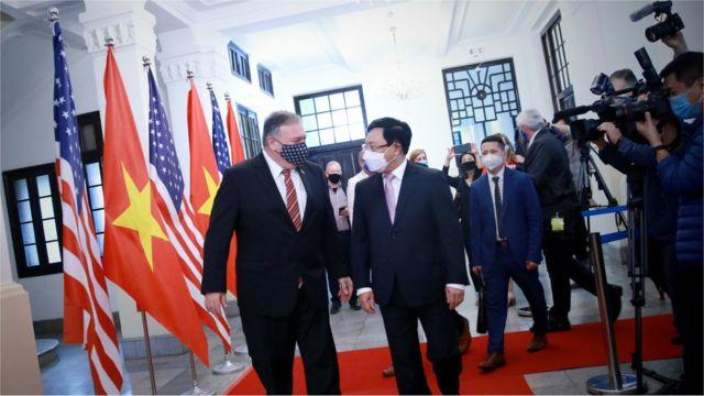 Chuyến thăm VN được bổ sung vào phút chót, khi ngoại trưởng Mỹ kết thúc lịch trình thăm India, Sri Lanka, Maldives và Indonesia.