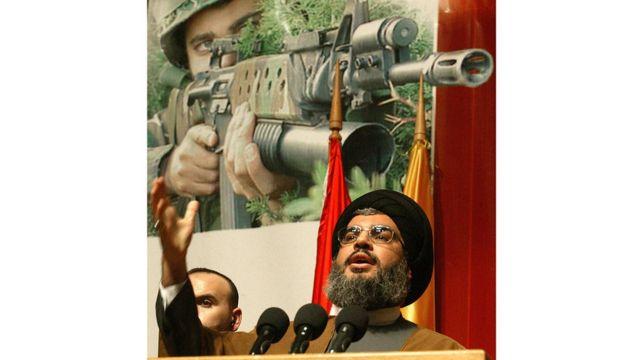حسن نصر الله زعيم جماعة حزب الله اللبنانية (أرشيفية)