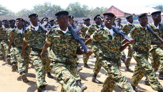 burundi soldiers